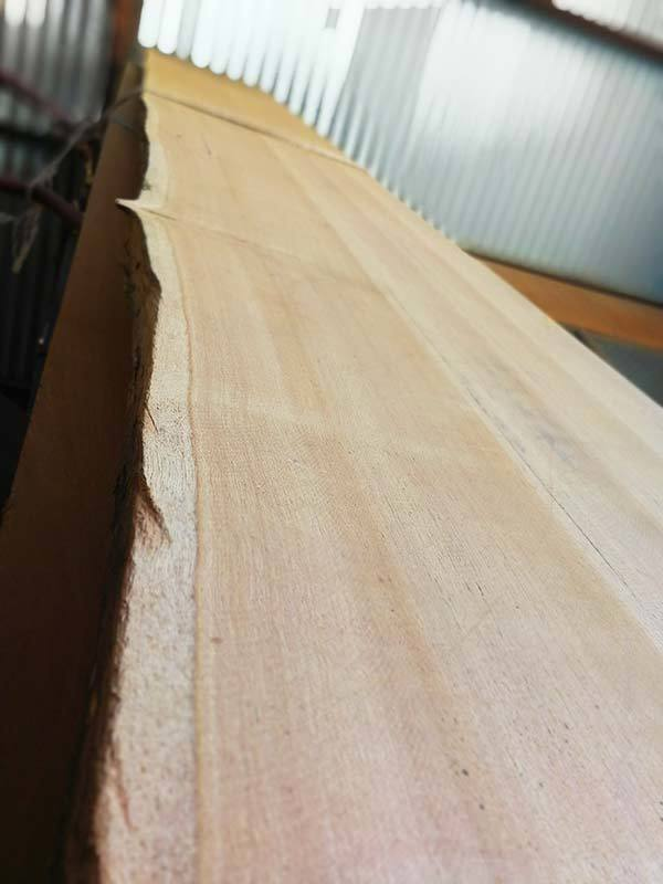 recycled reclaimed blackbutt slabs timber perth