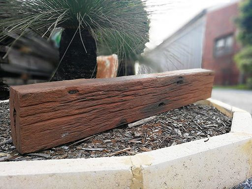 recycled reclaimed wandoo beams timber perth