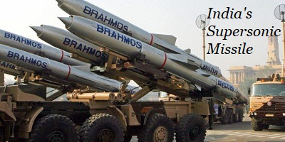 Brahmos Supersonic Missile