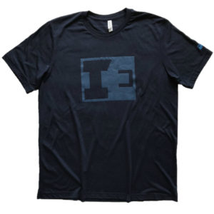 IE Navy Blue T - Front