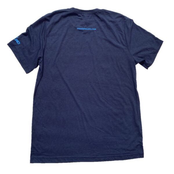 T shirt Navy/Bright Blue Back