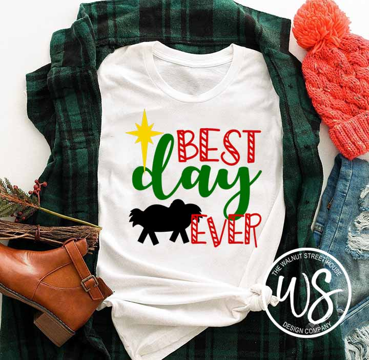 Best Day Ever Christmas SVG