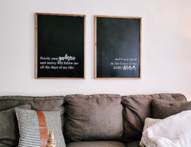 Use vinyl in home decor