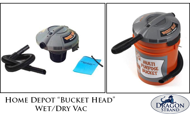 Home Depot Bucket Head