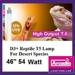 """Arcadia 46"""" 12% T5 UVB bulb"""
