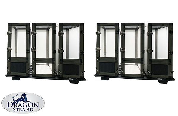 six unit nuersery cage system