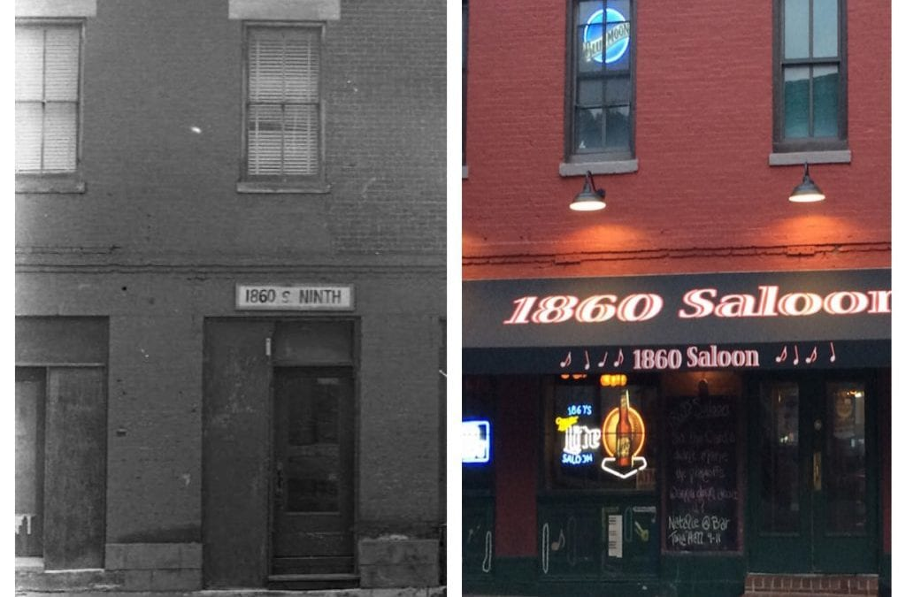 History of 1860's Saloon, Game Room & Hardshell Café