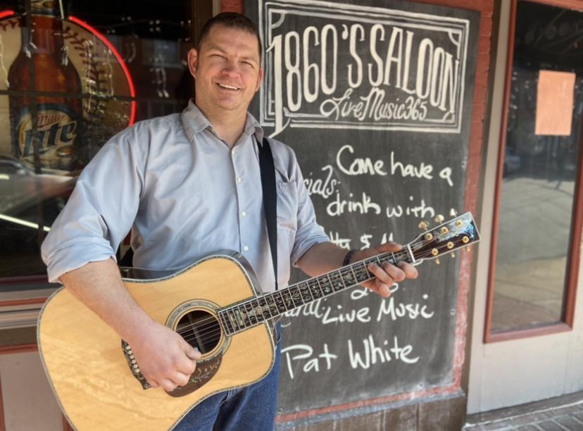 Live! Pat White, no cover, 2-6 p.m.