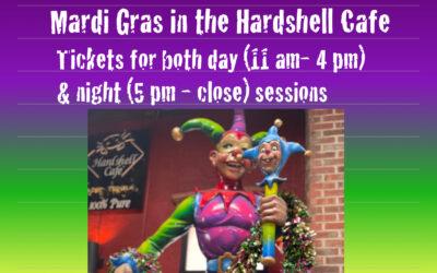 Mardi Gras in the Hardshell Cafe!