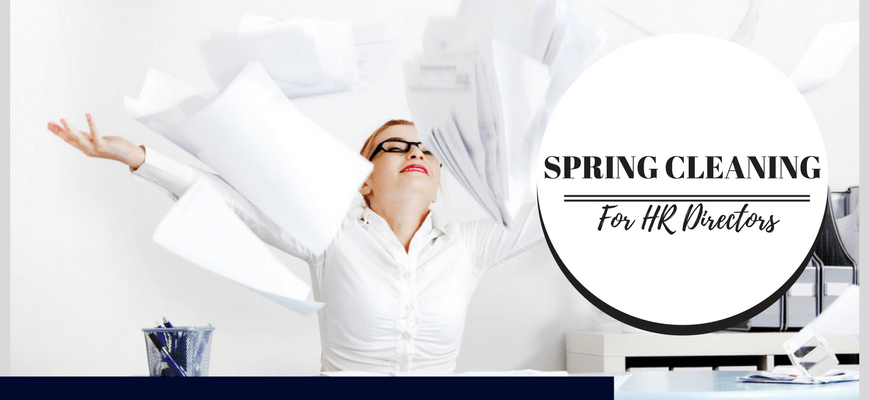 Spring Cleaning for HR professionals