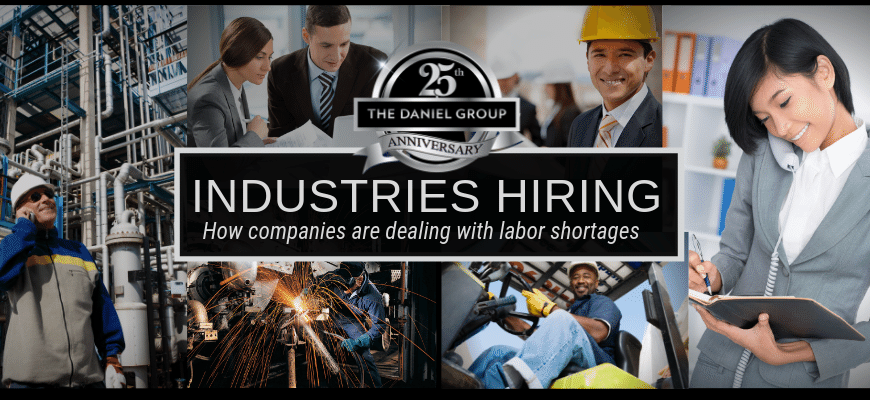 How Companies are Dealing with Labor Shortages