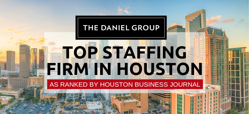 TDG Named Houston's Top Staffing Firm