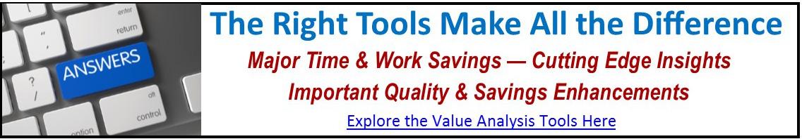 Hospital Value Analysis Tools