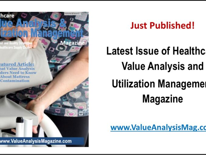 Healthcare Value Analysis Magazine