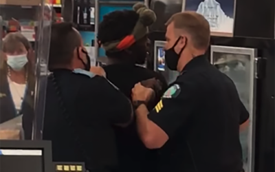 African American male tased and arrested after riding bicycle all through Pennsylvania Walmart