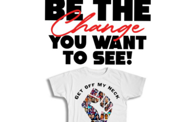 "Former NFL stars Aaron Maybin and Bart Scott team up again to form ""T-Shirts 4 Change"""