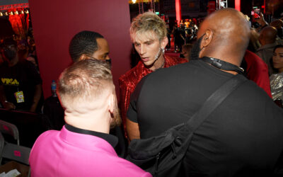 Conor McGregor and Machine Gun Kelly have near violent altercation at the 2021 Video Music Awards