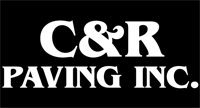 C & R Paving : Ajax, Whitby, Pickering, Oshawa, Scarborough, Toronto Commercial & Residential Paving, Concrete & Snow Removal Logo