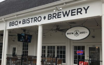 Porter Brew & Que Brewery Dunwoody inspection finds multiple fruit/drain flies throughout the kitchen