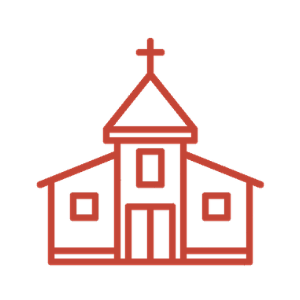 Church building icon