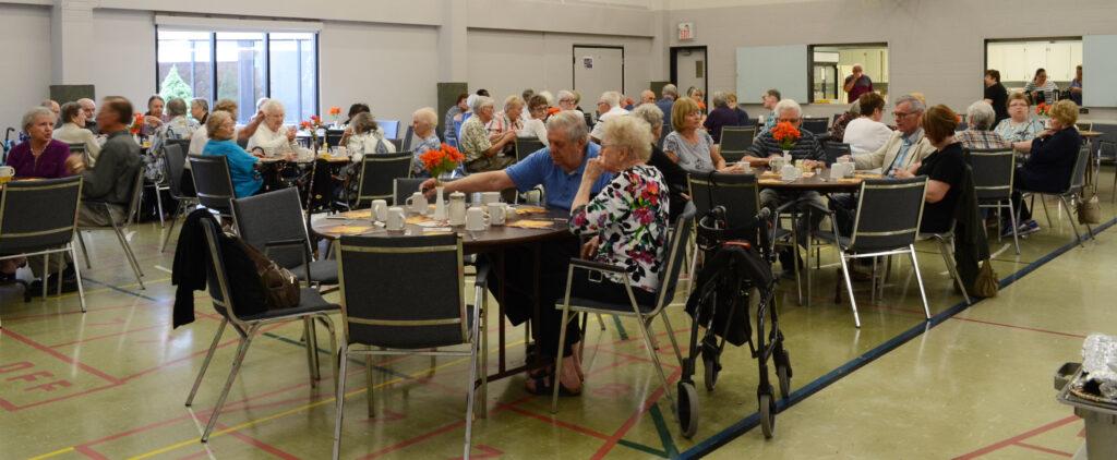 Seniors' ministry gathering