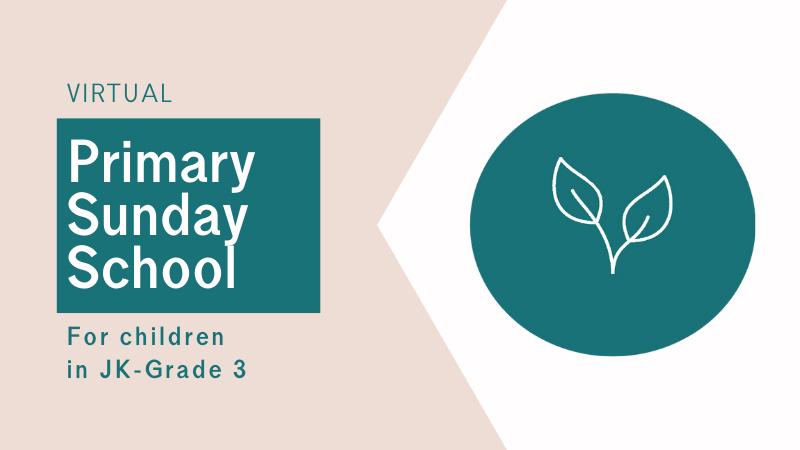 Primary Sunday School at Central Baptist Church Brantford