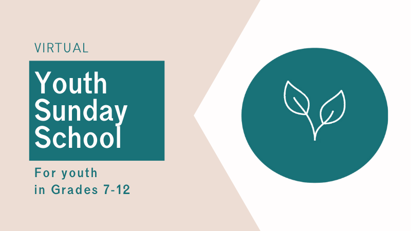 Youth Sunday School at Central Baptist Church Brantford