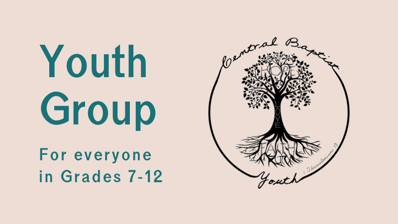 Youth Group at Central Baptist Church Brantford
