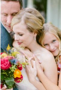 Blended family ceremony