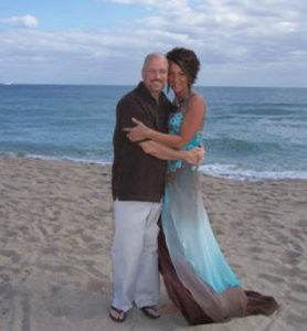 Beach Ceremony to Renew Wedding Vows