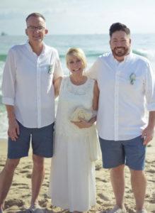 LGBTQ Wedding before a cruise