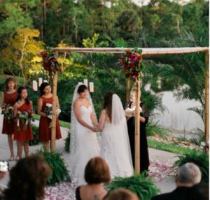 Morikami Lesbian Wedding