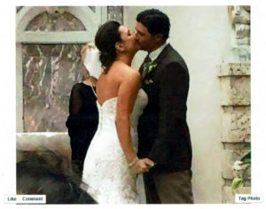 Romantic Wedding Ceremony with Custom Vows in South Florida