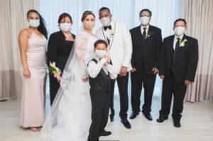 South Florida Wedding with Masks During Coronavirus