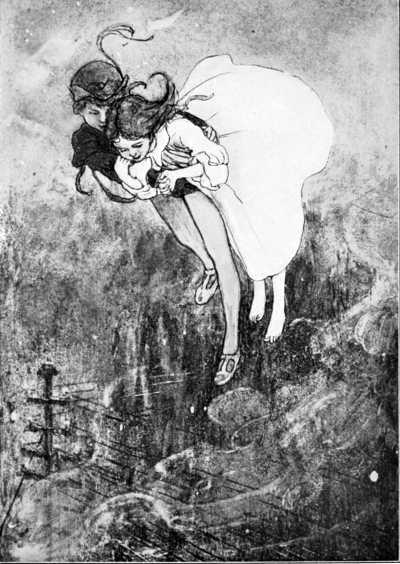 Peter Pan Wendy Flying Children's Book