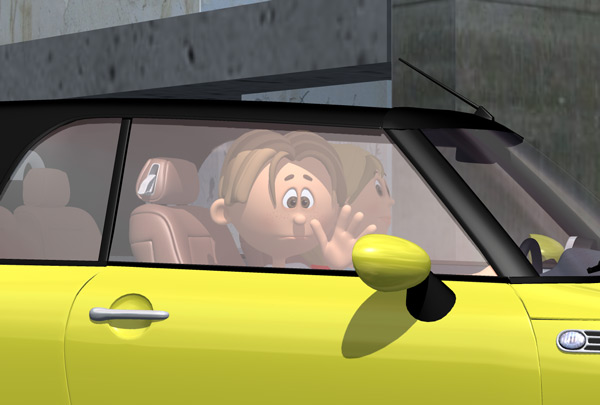 Pauly Car Children's Story