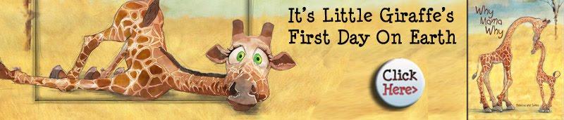 Kid's Book Why Mama Why Baby Giraffe
