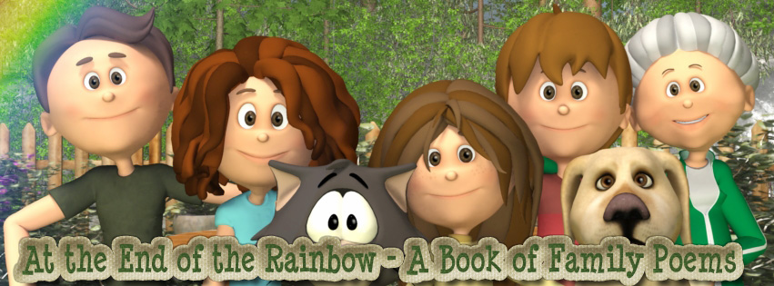 At the End of the Rainbow Poetry Book for Children