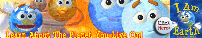 I Am Earth Book for Kids about Planet Earth Day