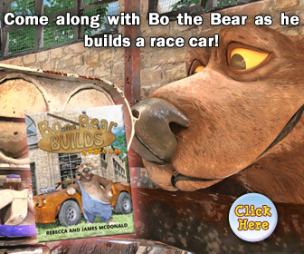 Bo the Bear Builds Book Series for Kids