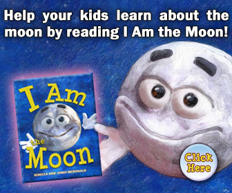 I am the moon book for kids