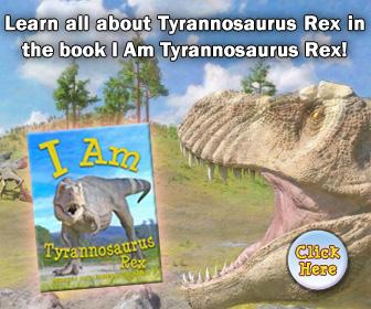 I Am Tyrannosaurus Rex Book for Kids
