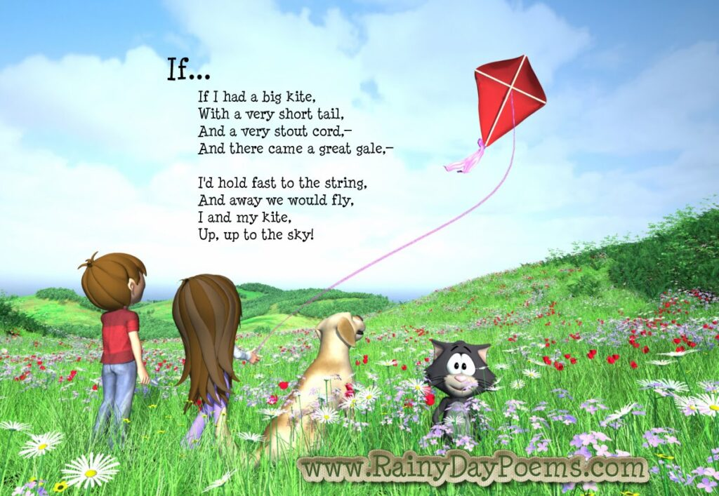 Poems for Kids about a Kite