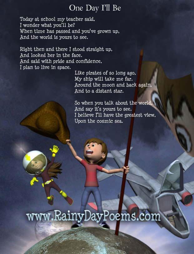 Rainy Day Poems Poetry Book