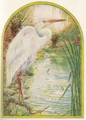Nature Poems for Kids Heron