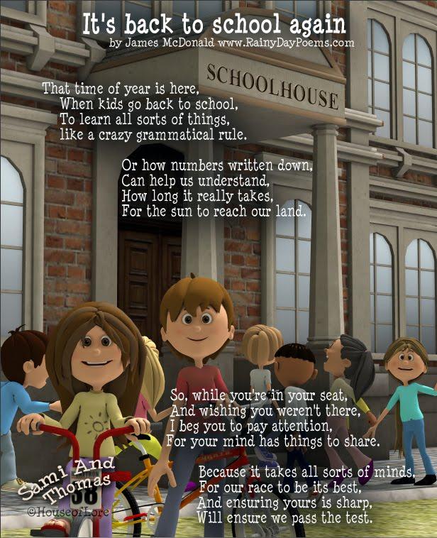 School Poems for Kids