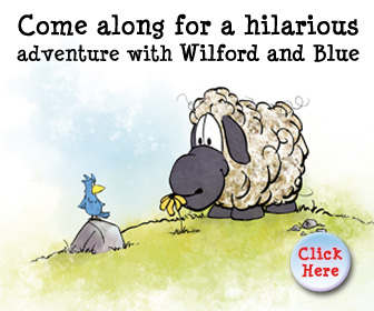 Funny Sheep and Bird Book for Kids
