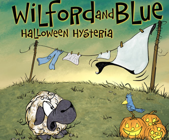 Funny Halloween Book for Kids Wilford and Blue