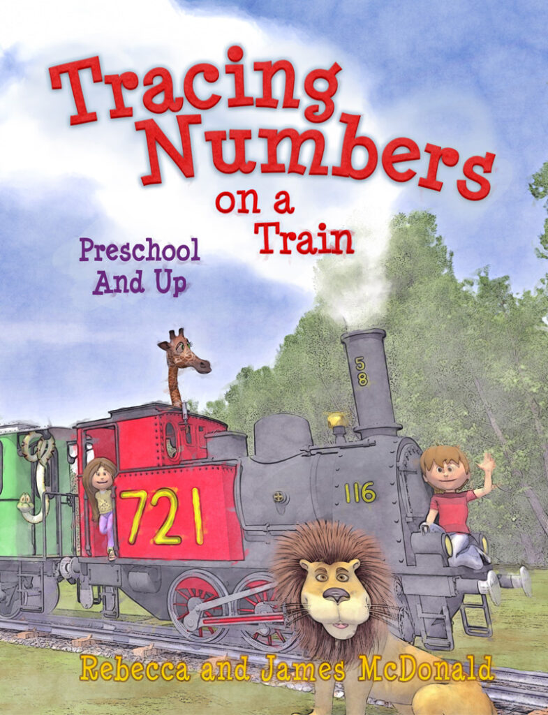 Tracing Numbers Book for Kids
