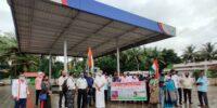 'ಕುಂದಾಪುರ ಬ್ಲಾಕ್ ಕಾಂಗ್ರೆಸ್: ಪೆಟ್ರೋಲ್ ಮತ್ತು ಡೀಸೆಲ್ ದರ ಏರಿಕೆ ವಿರೋಧಿಸಿ 3ನೇ ದಿನದ ಪ್ರತಿಭಟನೆ'